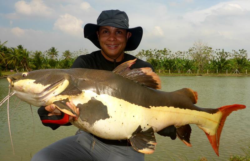 pêche en thaïlande eau douce